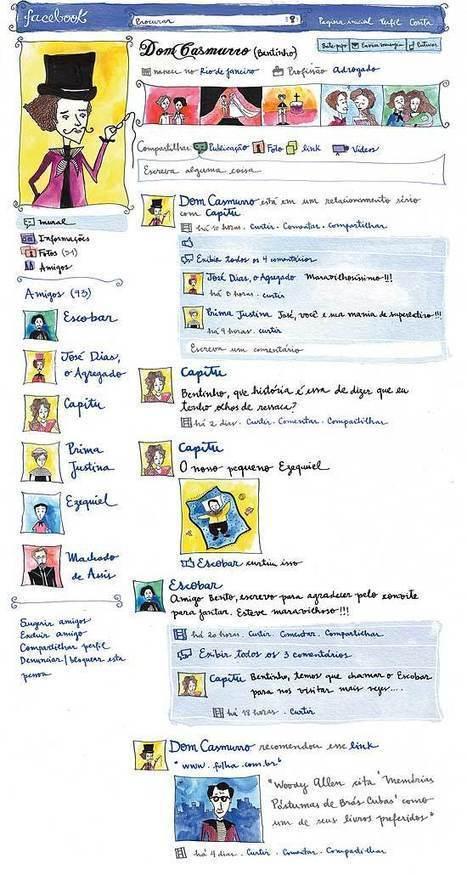 Folha.com - Ilustrada - Personagens de autor português ganham vida no Facebook - 24/05/2011 | Era Digital - um olhar ciberantropológico | Scoop.it