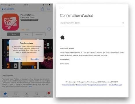Droit de rétractation : Apple ne rembourse plus après téléchargement   Apple pratique   Scoop.it