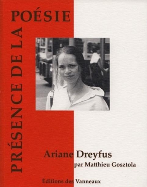 Ariane Dreyfus de Matthieu Gosztola, lecture de Tristan Hordé | Poezibao | Scoop.it