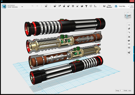 Autodesk 123D Design | New Web 2.0 tools for education | Scoop.it