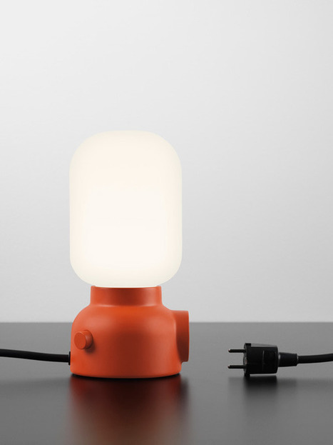 Plug Lamp by Form Us With Love for ateljé Lyktan » Yanko Design | Furniture Design | Scoop.it