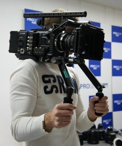 DSLR News Shooter   Matt Allard goes hands on with the new Sony F55 – no high frame rates until September   Videography   Scoop.it