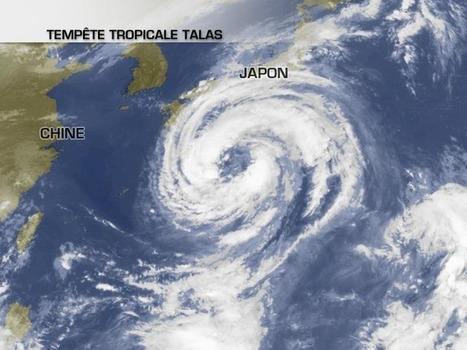 Le Japon menacé par la tempête tropicale Talas | MétéoConsult.fr | Japon : séisme, tsunami & conséquences | Scoop.it
