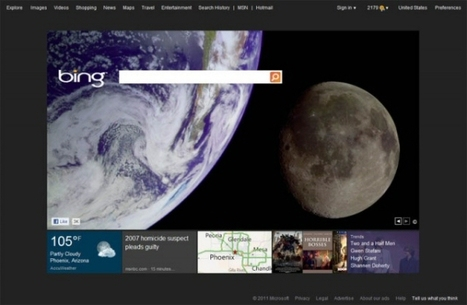"""Bing Tests New Home Page """"Live Tiles"""" Design, PPC Ads in Organic Results 