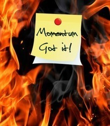 Momentum: Very Important When You're Blogging | Writing Better Blog Content | Scoop.it