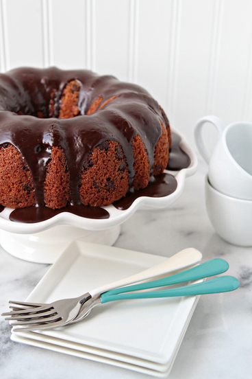 Chocolate Chip Bundt Cake | My Baking Addiction | Chocolate cakes | Scoop.it