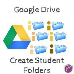 Create a Google Drive Folder for Each Student - Teacher Tech   PS recommends   Scoop.it