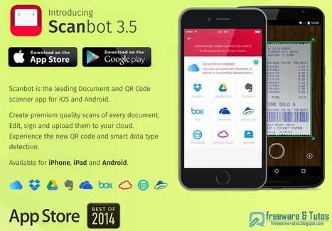 Scanbot : un scanner pour votre smartphone | Techno News | Scoop.it