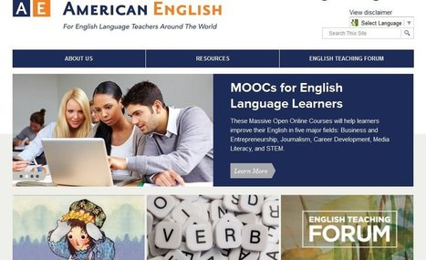 """American English"" Site From U.S. Department Of State Has Developed Into Great Resource For ELL Teachers 