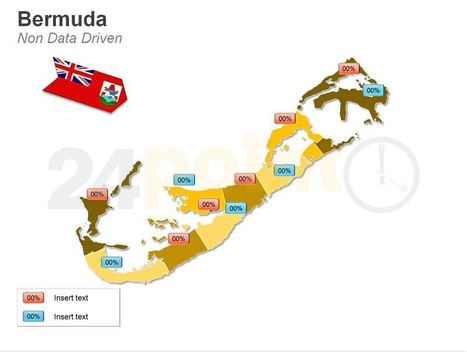 Business Map of Bermuda - Fully Editable in PowerPoint   World Maps   Scoop.it