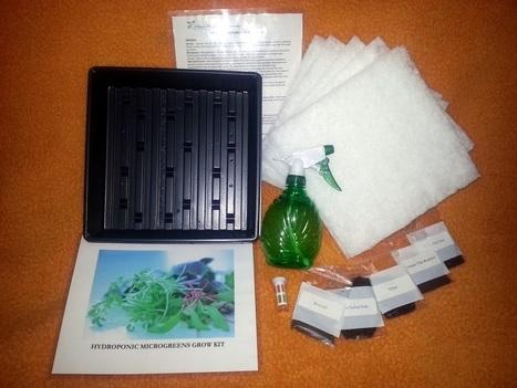Microgreen Starter Kit | Vertical Farm - Food Factory | Scoop.it