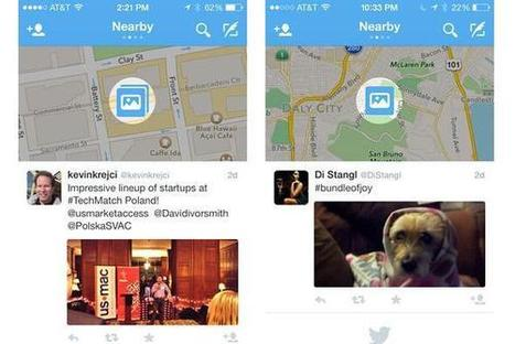 Twitter teste la géolocalisation des tweets | Réseaux Sociaux - Social Media | Scoop.it