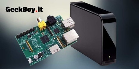 Network Attached File Server using Raspberry PI | Robotics and Automation | Scoop.it