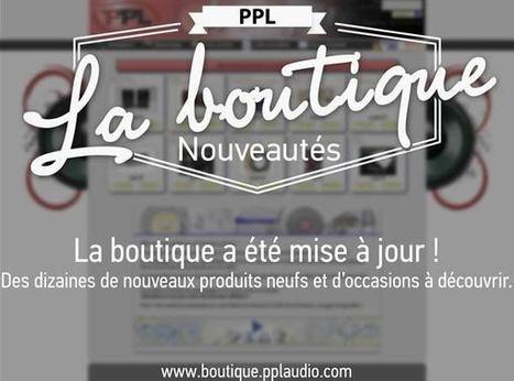 Des nouveautés chez PPL! | ON-TopAudio | Scoop.it