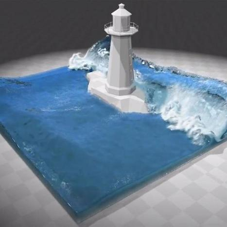 Video: This Is What Water Will Look Like in Games of the Future | Metatrame | Scoop.it
