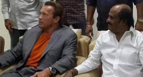 Rajnikanth and Arnold Schwarzenegger together! | Entertainment News | Scoop.it
