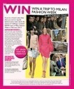 WIN A TRIP TO MILAN FASHION WEEK | Grazia South Africa | HB Models eZine | Scoop.it