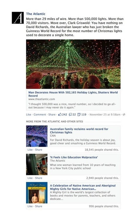 Facebook's News Feed algorithm will soon start showing you more articles | Socially | Scoop.it