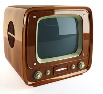 Vintage TV 3D | 3D Library | Scoop.it