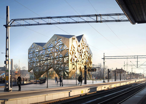 Jewel-inspired office block by Utopia Arkitekter to be built next year in Sweden | Inspired By Design | Scoop.it
