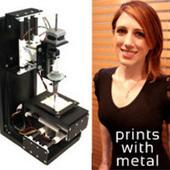 MiniMetalMaker - A small 3D printer that fabricates with precious metal clay. | De toekomst volgens Sandro | Scoop.it