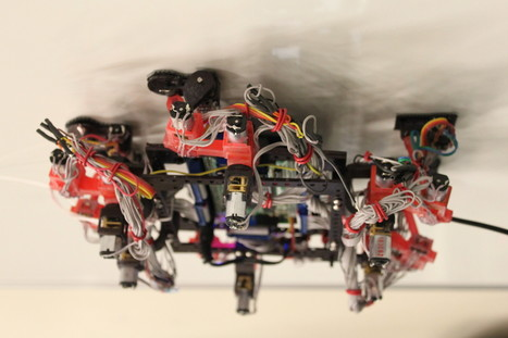 Space geckos? Sticky-footed robots could climb future spacecraft   Robots and Robotics   Scoop.it