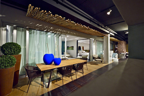 Penthouse furniture showroom by Studio Yaron ... - Retail Design Blog | All about Malls and Retail | Scoop.it