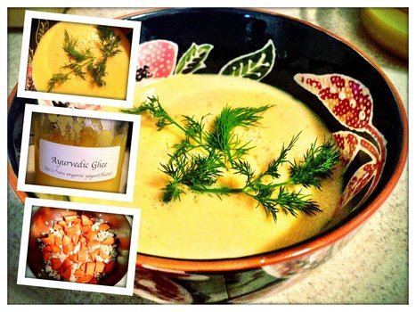 Cauliflower+Taro Root Ayurvedic Soup | Healthy Recipes In Cooking Blogs | Scoop.it