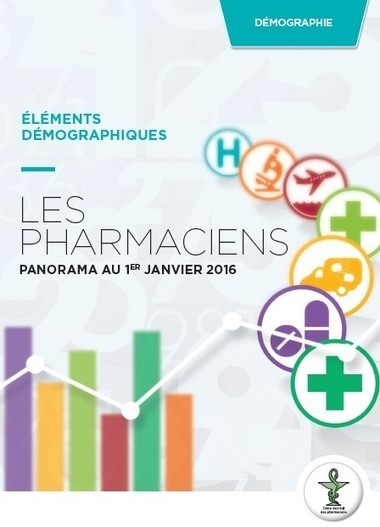 La démographie des pharmaciens au 1er janvier 2016  | Buzz e-sante | Scoop.it