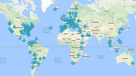 Wi-Fi Passwords Of Airports Around The World In A Single Map | WebNews | Scoop.it