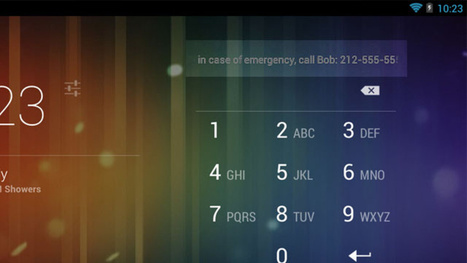 Add Emergency Contact Information to Your Phone's Lock Screen | humanitarian | Scoop.it