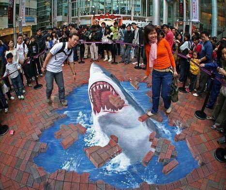 3d Street Art / Pinturas em calçadas que vão deixar você de queixo ... | Urban Life | Scoop.it