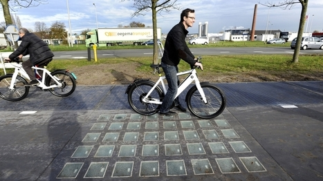 Dutch Solar Road makes enough Energy to Power Household | Technology in Business Today | Scoop.it