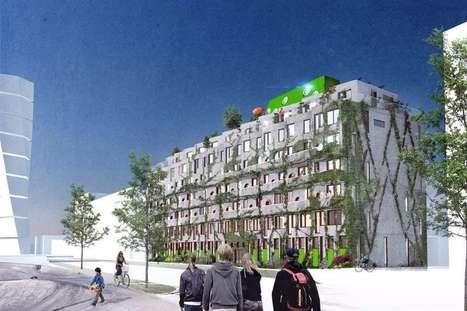 En Suède, le premier immeuble conçu pour une vie sans voiture   Immobilier logistique ou innovant   Scoop.it