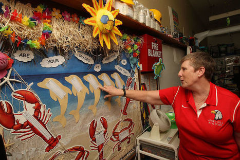 Bulletin boards shine light on classrooms - Herald & Review | Technology in Art And Education | Scoop.it