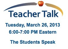 Teacher Talk Webinar - iNACOL | Virtual Instruction | Scoop.it