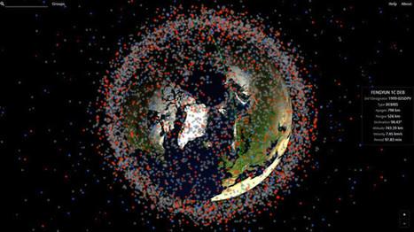 Echtzeit-Karte zeigt Weltraum-Schrott | Space | SpaceDebris | Umweltverschmutzung | 21st Century Innovative Technologies and Developments as also discoveries, curiosity ( insolite)... | Scoop.it