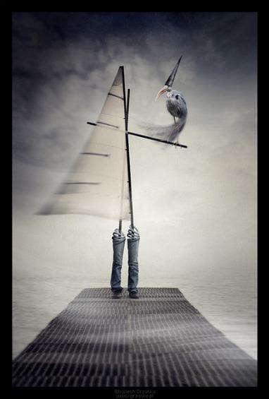 Surreal Photomanipulations by Wojciech Grzanka | Photography-watch, think, shoot, improve | Scoop.it