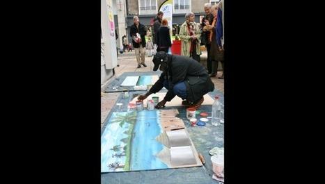 Boulogne: street art et expression citoyenne ont lancé la Semaine de la solidarité internationale | Tourisme Boulogne-sur-Mer | Scoop.it