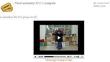 Ecole Maternelle Publique d'Epeigné-les-Bois (37) Film d'animation 9/11 L'araignée   Vie numérique  à l'école - Académie Orléans-Tours   Scoop.it