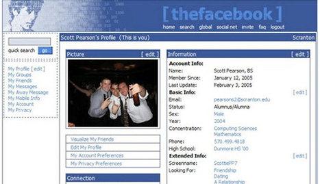 Así evolucionó Facebook en nueve años | Experiencias educativas en las aulas del siglo XXI | Scoop.it
