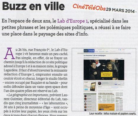 Buzz en ville | DocPresseESJ | Scoop.it