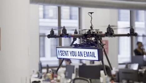 Que se passe-t-il si on embauche des drones à la place des humains? - Mode(s) d'emploi | Une nouvelle civilisation de Robots | Scoop.it