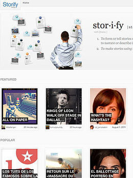 I just discovered Storify on TIME's list of Best Websites. Explore it and more must-see sites on TIME.com.   METIDMATCH2013   Scoop.it