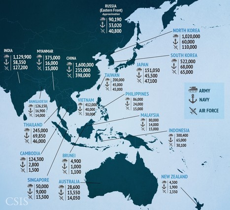 18 maps that explain maritime security in Asia | Classroom geography | Scoop.it
