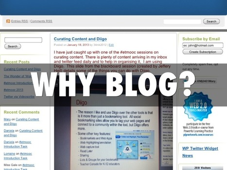 """Why Blog?"" 