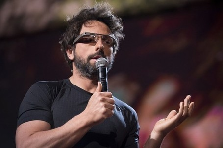 "Google Glass Will Make You Manly, Says Sergey Brin | Wired Business | Wired.com | L'impresa ""mobile"" 