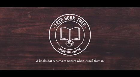 Bookmarking Book Art - Tree Book Tree   Books On Books   Scoop.it