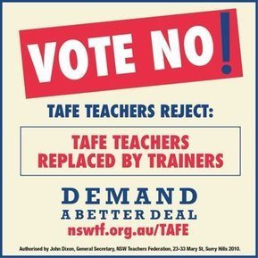 Tweet from @TAFEeducation | Invest in TAFE for a better State! | Scoop.it