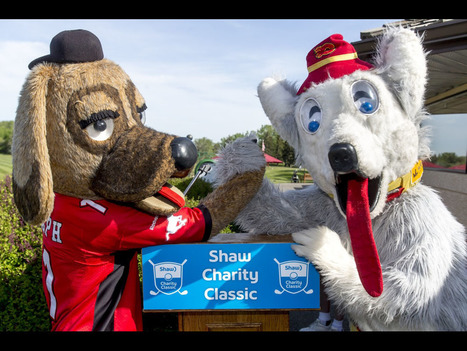 Gallery: Drive contest a fun precursor to Shaw Charity Classic | Mascots | Scoop.it